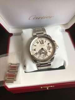 Cartier 卡地亞W7100015鋼錶