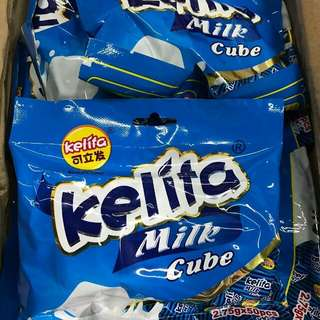 HALAL Kelita Milk cube + freegifts