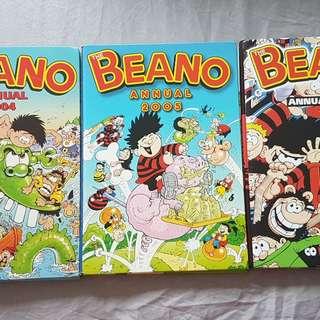 The Beano Annual Hardcover Book