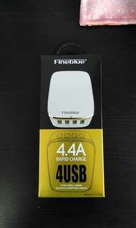 Fineblue 4.4A repaid charge 4 USB