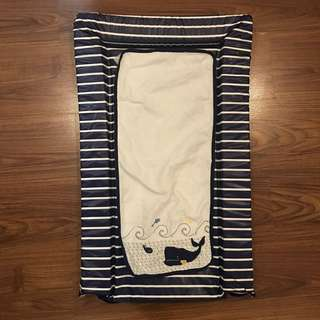 Mothercare Blue stripes changing mat