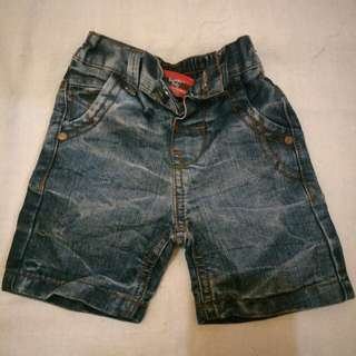Celana jeans pendek baby snoppy