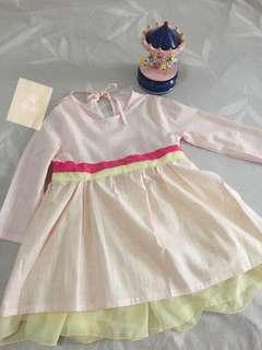 Pink girls dress