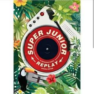 [SOLD OUT] SUPER JUNIOR 8TH REPACKAGE ALBUM:REPLAY (SPECIAL EDITION)