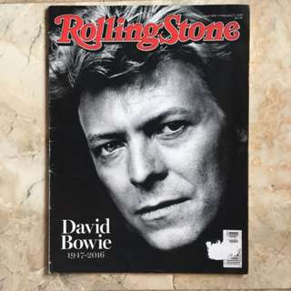 DAVID BOWIE Rolling Stone