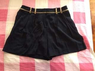 Club Monaco navy blue shorts