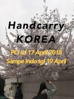 Handcarry Korea!
