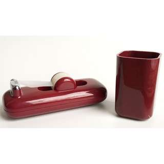 Vintage Tape Dispenser DESK SET Space Age Modern Mid-Century Kartell Panton Era