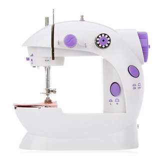 4 in 1 Mini Sewing Machine - Dual Speed with Light