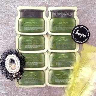 Innisfree The Green Tea Seed Cream 10 sachets