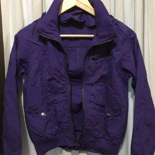 Purple Small Light Jacket