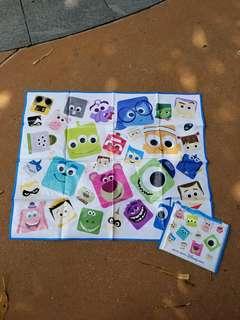 香港迪士尼 Disney Pixar Lotso 野餐墊/沙灘墊