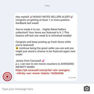 HIGHLY RATED SELLER ❤ Thank you, CAROUSELL! ❤