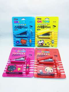 Kids Mini Stapler Set