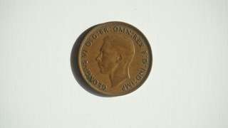 Coin 1938 One Penny AUSTRALIA
