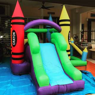 Bouncy Castle + Blower for sale