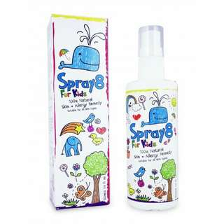 Spray8 For Kids Skin + Allergy Remedy 100mL