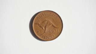 Coin 1951 One Penny AUSTRALIA