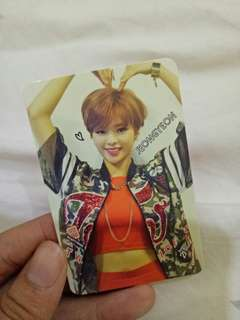 Twice JEONGYEON the story begins official photocard