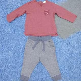 12-18 month - Zara/Old Navy Kids Cloth Shirt Dress Baby Girl Boy