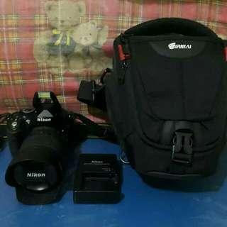 Nikon d5200+18-105mm