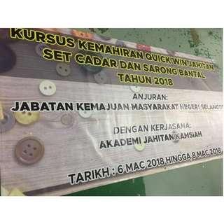 Mencetak Banner dan Bunting Berkualiti