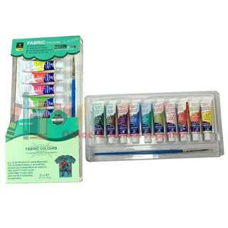Fabric Paint Tube (10 Colors)
