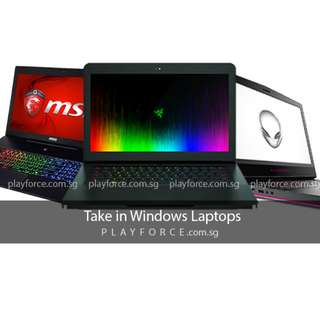 Buy laptops (Playforce)