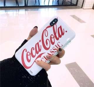 coca cola phone casing