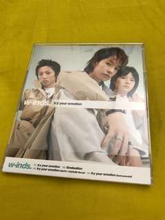 """w-inds. """"try your emotion"""" CD"""