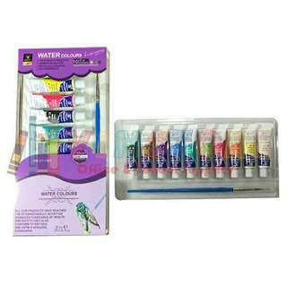 Water Color Paint Tube (10 Colors)