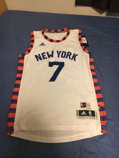 NEW YORK KNICKS CARMELO ANTHONY ADIDAS NBA JERSEY
