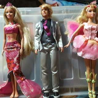 Barbie dolls