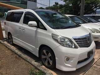 PROMOSI Toyota Alphard sambung bayar 0192057878