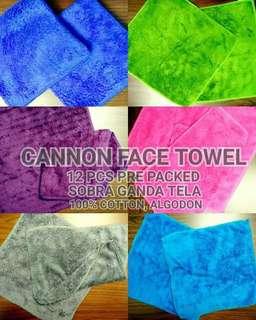 Cannon Face Towel