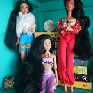 Doll collections(black & long hair)