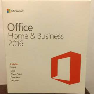 MS office 2016 Home & Business