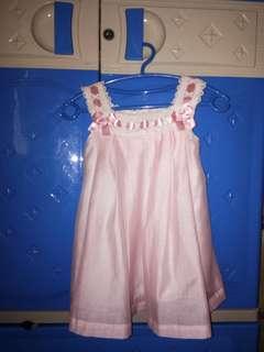 Pink dress trajecitos de bebe
