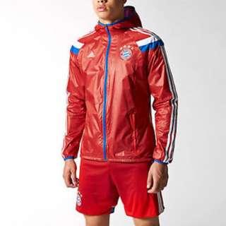 Authentic FC Bayern Munich Anthem Jacket XS