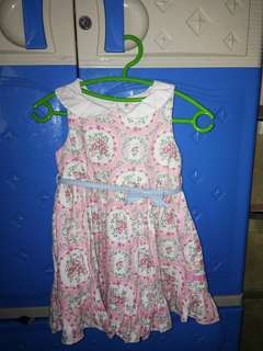 Floral peppermint dress