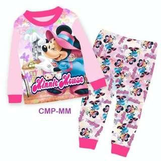 INSTOCK Minnie and Mickey pyjamas set