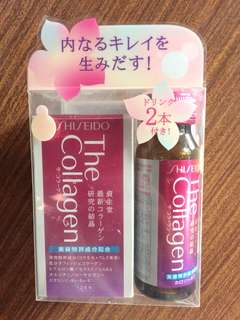 Shiseido Collagen Tablet and Drink