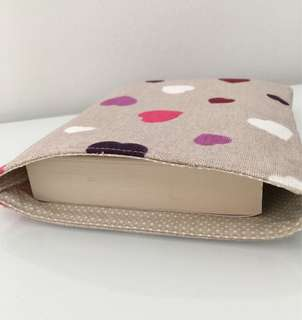 Booksleeve - Hearts design