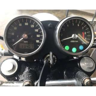 Kawasaki W650 原廠 儀表 總成 [時速表 轉速表 BJ250 W400 W800 SR400 V7 ]