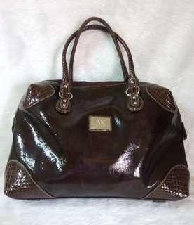 Anne Klein Brown Tote Bag