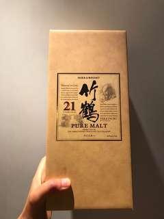 停產絕版 全新 竹鶴21年 Taketsuru 21 Years 700ml, Japanese Whisky 日本威士忌