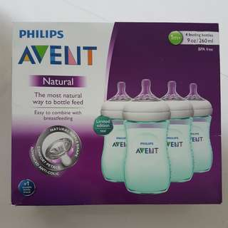 Avent Natural Bottles -Teal