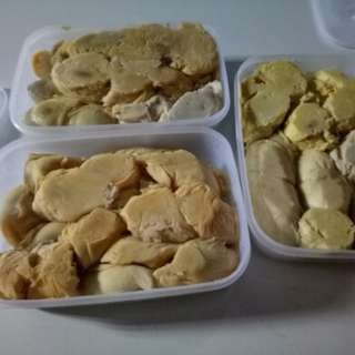 Durian kupas(biji)