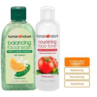Get P25 OFF when you buy any 200ml Facial Wash and any 200ml Face Toner