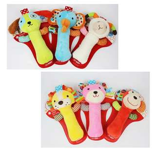 SKK Baby Squeeze Me Rattle Activity Toy